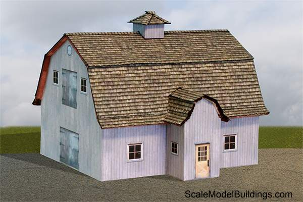 photograph relating to Free Printable Ho Scale Buildings called Cardstock Constructions for Type Railroads and Dioramas
