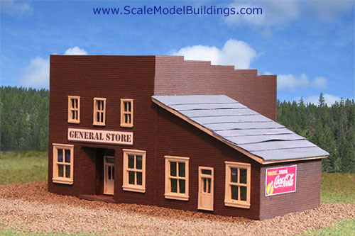 garden scale 1:24 old west store structure plans