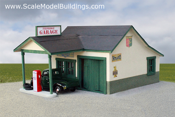 RC 1:10 Scale buildings